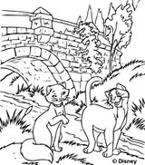 Imprimer le coloriage : Les Aristochats, numéro 26c85771