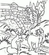 Imprimer le coloriage : Les Aristochats, numéro 41cf6d94
