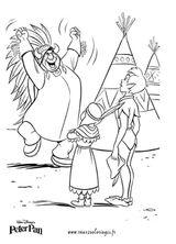Imprimer le coloriage : Peter Pan, numéro 167540
