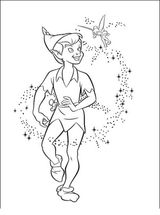 Imprimer le coloriage : Peter Pan, numéro 28020