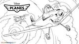 Imprimer le coloriage : Planes numéro 603445
