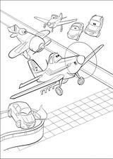 Imprimer le coloriage : Planes numéro 613636