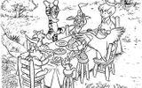 coloriages à imprimer personnages célèbres walt disney