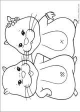 Imprimer le coloriage : Zhu Zhu Pets, numéro 306368