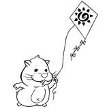 Imprimer le coloriage : Zhu Zhu Pets, numéro 306391
