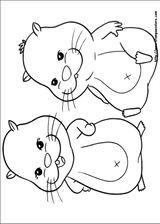 Imprimer le coloriage : Zhu Zhu Pets, numéro 306393