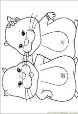 Imprimer le coloriage : Zhu Zhu Pets, numéro 306410