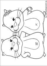 Imprimer le coloriage : Zhu Zhu Pets, numéro 358484