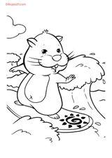 Imprimer le coloriage : Zhu Zhu Pets, numéro 358485