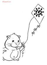 Imprimer le coloriage : Zhu Zhu Pets, numéro 424212