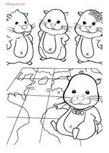 Imprimer le coloriage : Zhu Zhu Pets, numéro 630231