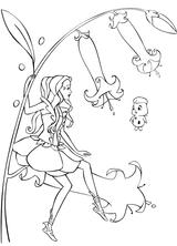 Imprimer le coloriage : Personnages féeriques, numéro 156