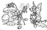 Imprimer le coloriage : Personnages féeriques, numéro 1850c34b