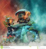 Imprimer le dessin en couleurs : Personnages féeriques, numéro 1b33d054