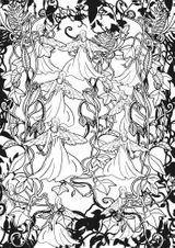 Imprimer le coloriage : Personnages féeriques, numéro 1ca005ce