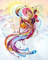 Imprimer le dessin en couleurs : Personnages féeriques, numéro 20322