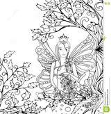 Imprimer le coloriage : Personnages féeriques, numéro 398ec2de
