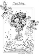Imprimer le coloriage : Personnages féeriques, numéro 4753
