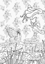 Imprimer le coloriage : Personnages féeriques, numéro 7b4db6a4