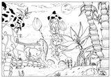 Imprimer le coloriage : Personnages féeriques, numéro 8d0ee974
