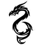 Imprimer le coloriage : Dragon, numéro 16370