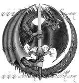 Imprimer le coloriage : Dragon, numéro 16380