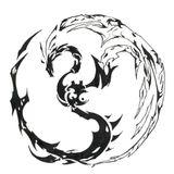 Imprimer le dessin en couleurs : Dragon, numéro 18703
