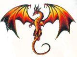 Imprimer le dessin en couleurs : Dragon, numéro 18705