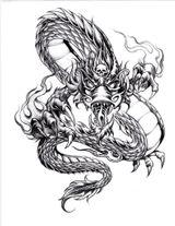Imprimer le dessin en couleurs : Dragon, numéro 18713