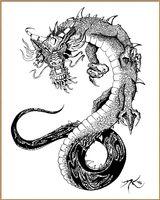 Imprimer le dessin en couleurs : Dragon, numéro 18716