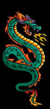 Imprimer le dessin en couleurs : Dragon, numéro 20339