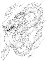 Imprimer le coloriage : Dragon, numéro 212160