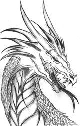 Imprimer le coloriage : Dragon, numéro 228453