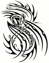 Imprimer le dessin en couleurs : Dragon, numéro 23407