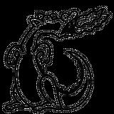 Imprimer le coloriage : Dragon, numéro 29774