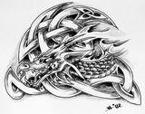 Imprimer le coloriage : Dragon, numéro 307273