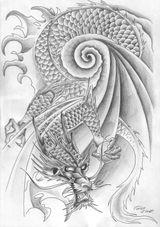 Imprimer le coloriage : Dragon, numéro 370101
