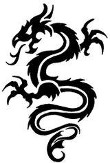 Imprimer le coloriage : Dragon, numéro 4726