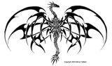 Imprimer le coloriage : Dragon, numéro 4740