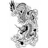 Imprimer le coloriage : Dragon, numéro 4743
