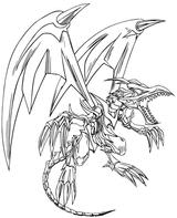 Imprimer le coloriage : Dragon, numéro 4747