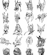 Imprimer le coloriage : Dragon, numéro 5158