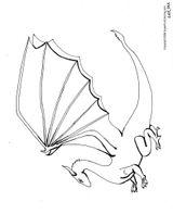 Imprimer le coloriage : Dragon, numéro 5674