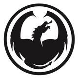 Imprimer le coloriage : Dragon, numéro 610475