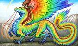 Imprimer le dessin en couleurs : Dragon, numéro 620010