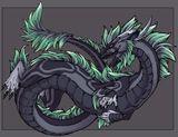 Imprimer le dessin en couleurs : Dragon, numéro 630006