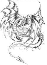 Imprimer le coloriage : Dragon, numéro 682603