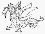 Imprimer le coloriage : Dragon, numéro 6f384465