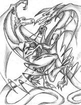 Imprimer le coloriage : Dragon, numéro 754976