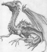 Imprimer le coloriage : Dragon, numéro 8717